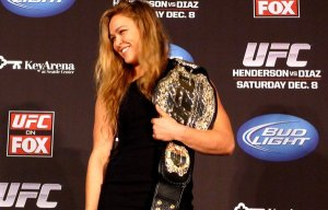 APphoto_UFC Rousey MMA